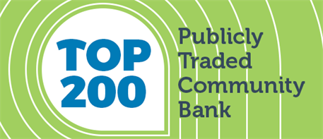Andover Bank ranked as a Top 200 Publicly-Traded Community Bank Again